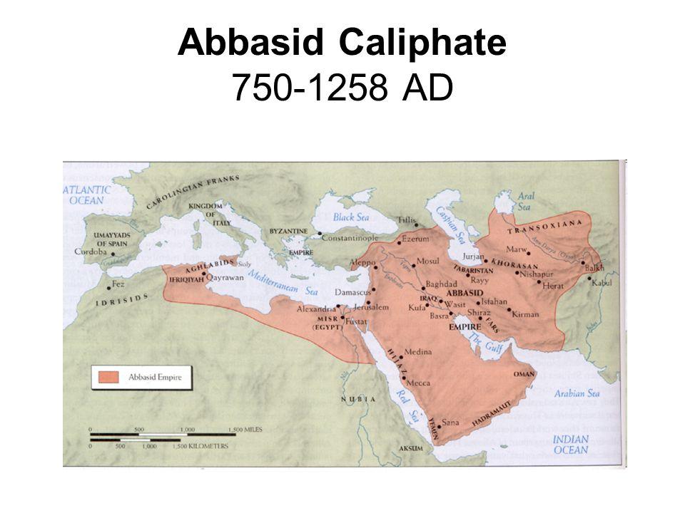 Abbasid Caliphate 750-1258 AD