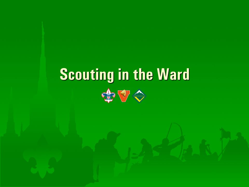 Scouting in the Ward