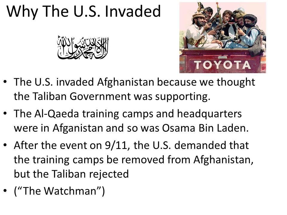 Why The U.S.Invaded The U.S.