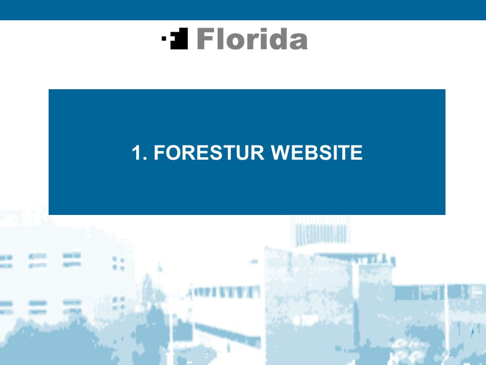 2 FORESTUR WEBSITE WEB OBJECTIVES: · DISSEMINATION OF THE PROJECT · VIRTUAL ENVIRONMENT FOR THE PROJECT WEB POTENTIAL USERS:  PARTNERS (EXPERTS, TRAINERS...)  TOURIST PROFESSIONALS INVOLVED IN THE PROJECT  TOURIST PROFESSIONALS  LOCAL, REGIONAL & NATIONAL AUTHORITIES IN TOURISM AND TRAINING  PUBLIC IN GENERAL