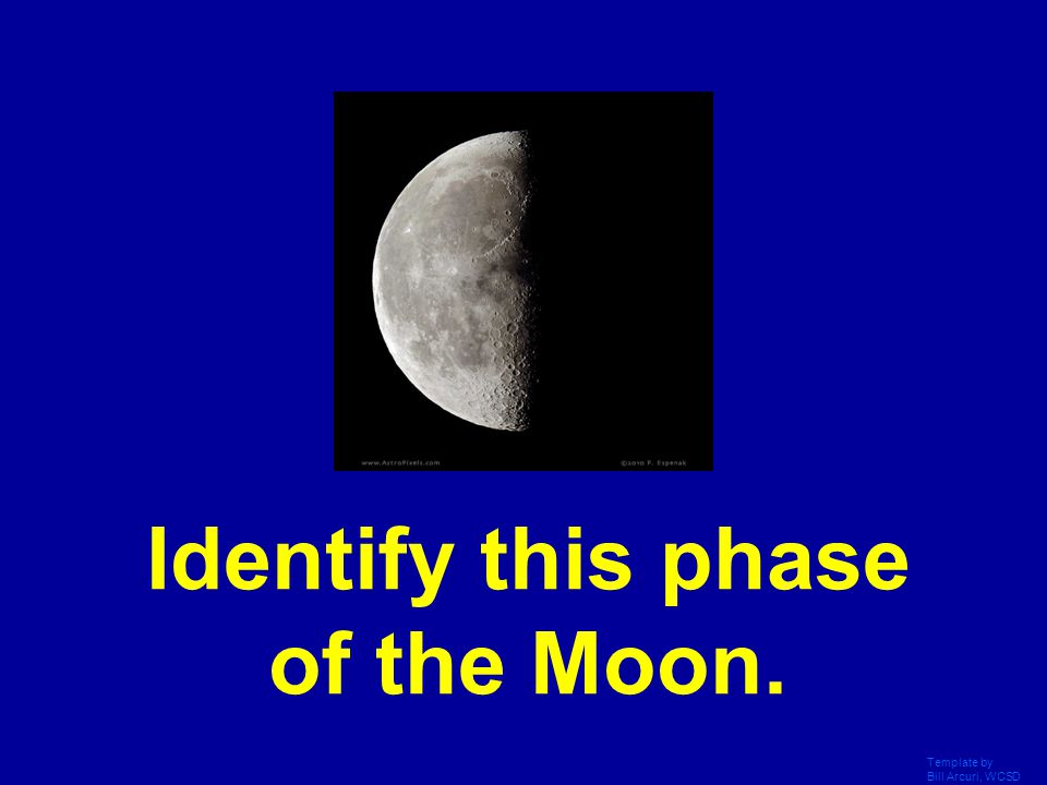 Template by Bill Arcuri, WCSD What is the New Moon phase?