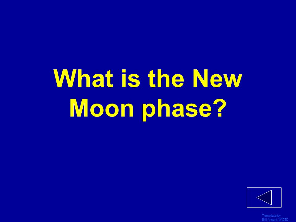 Template by Bill Arcuri, WCSD What is the full Moon?