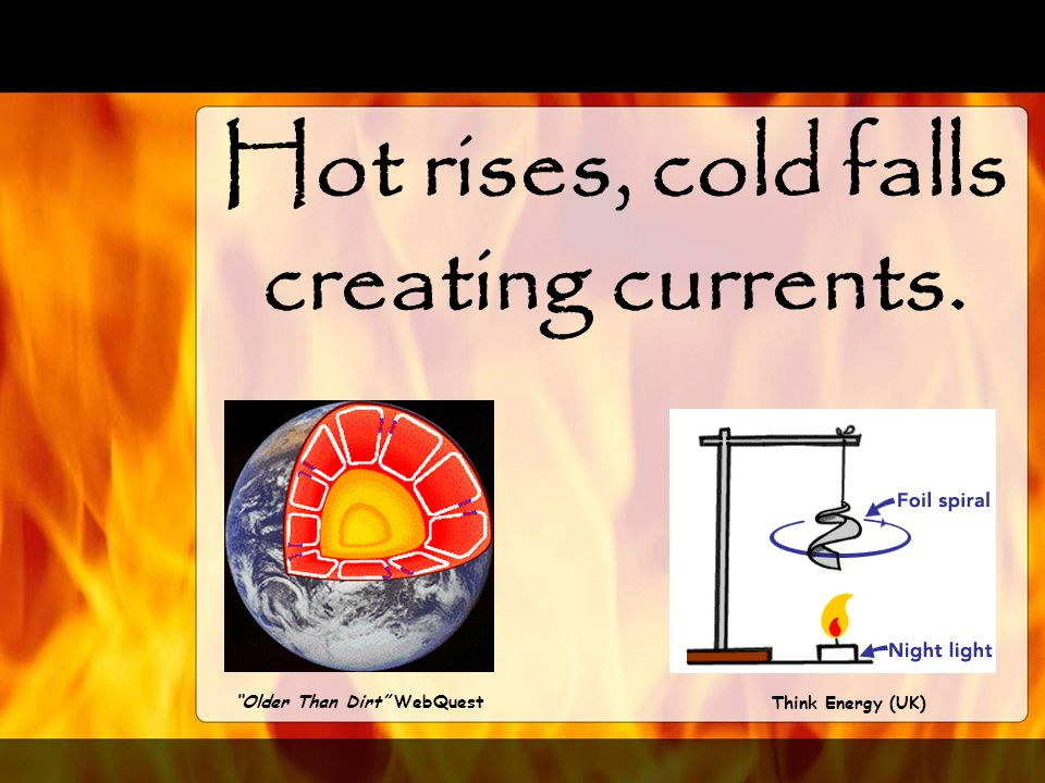 The second form of heat transfer is… Convection
