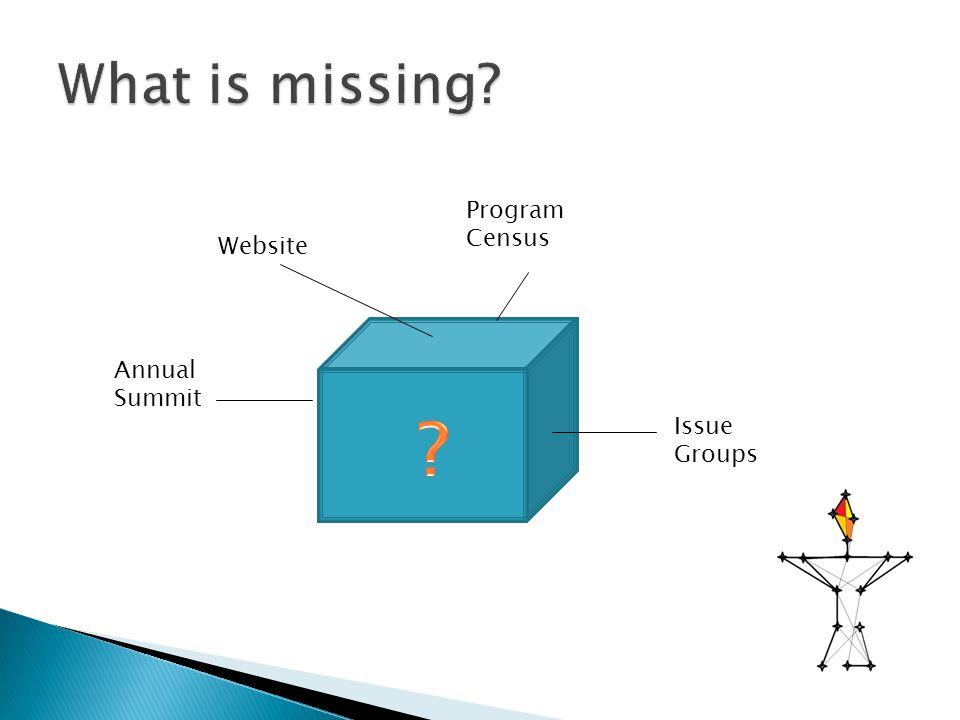 Website Issue Groups Annual Summit Program Census