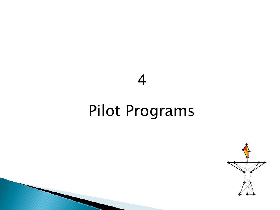 4 Pilot Programs
