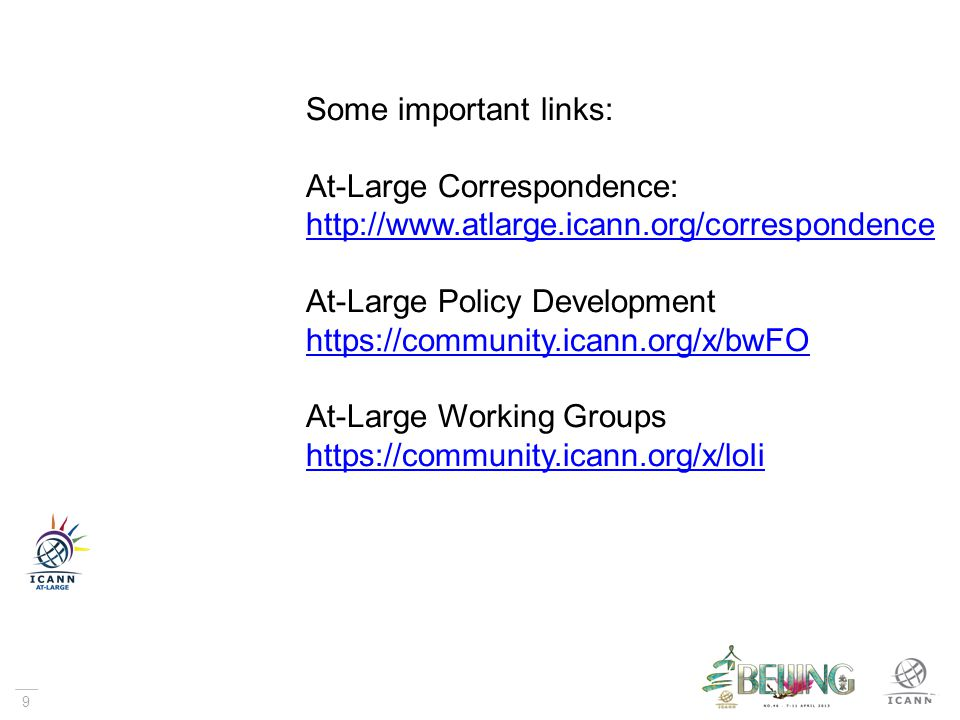Thank You & Questions? Contact: staff@atlarge.icann.org