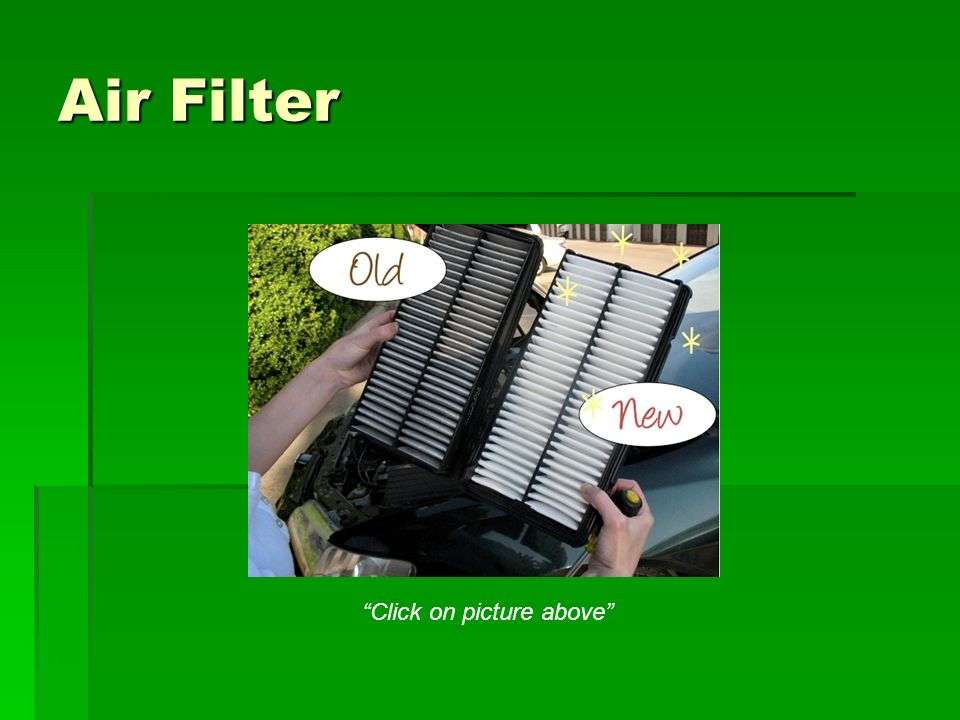 Air Filter Click on picture above