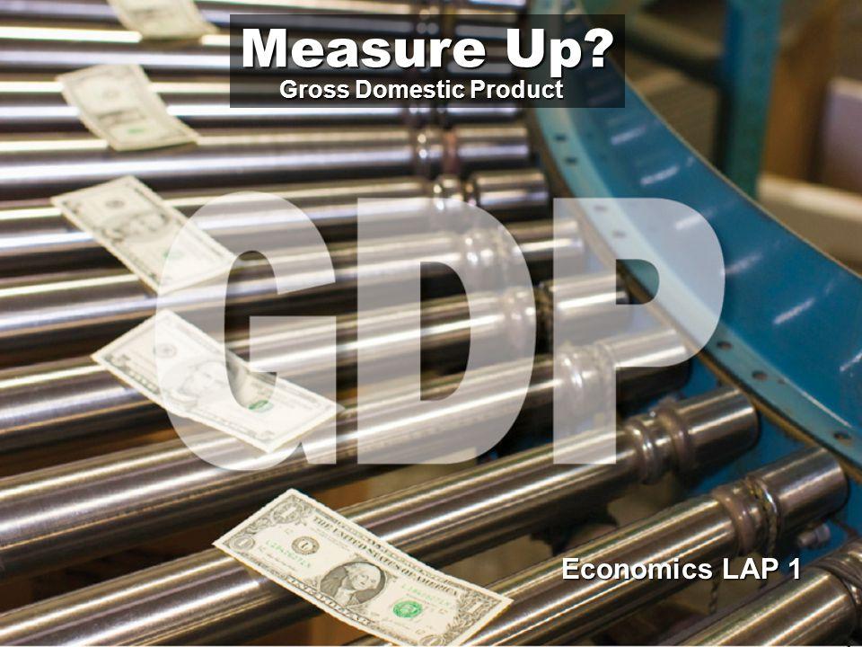 Underground transactions weaken GDP.