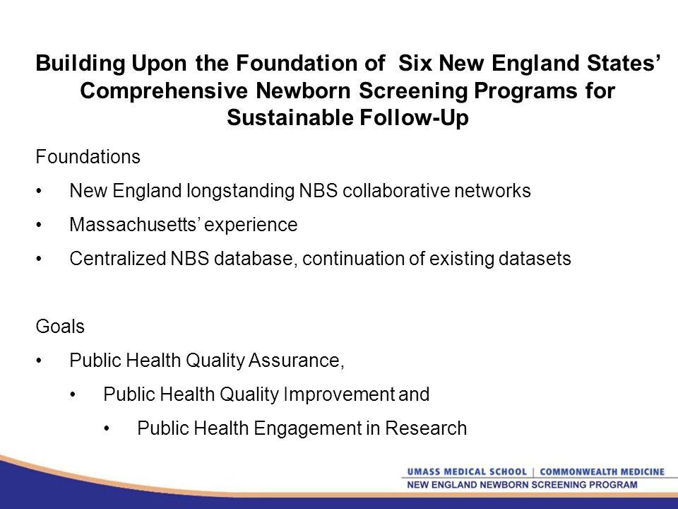 The New England Hemoglobinopathies Newborn Screening Workgroup Dr.