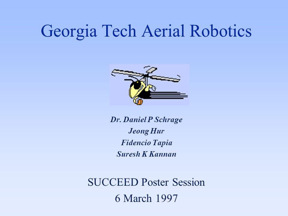 Georgia Tech Aerial Robotics Dr. Daniel P Schrage Jeong Hur Fidencio Tapia Suresh K Kannan SUCCEED Poster Session 6 March 1997