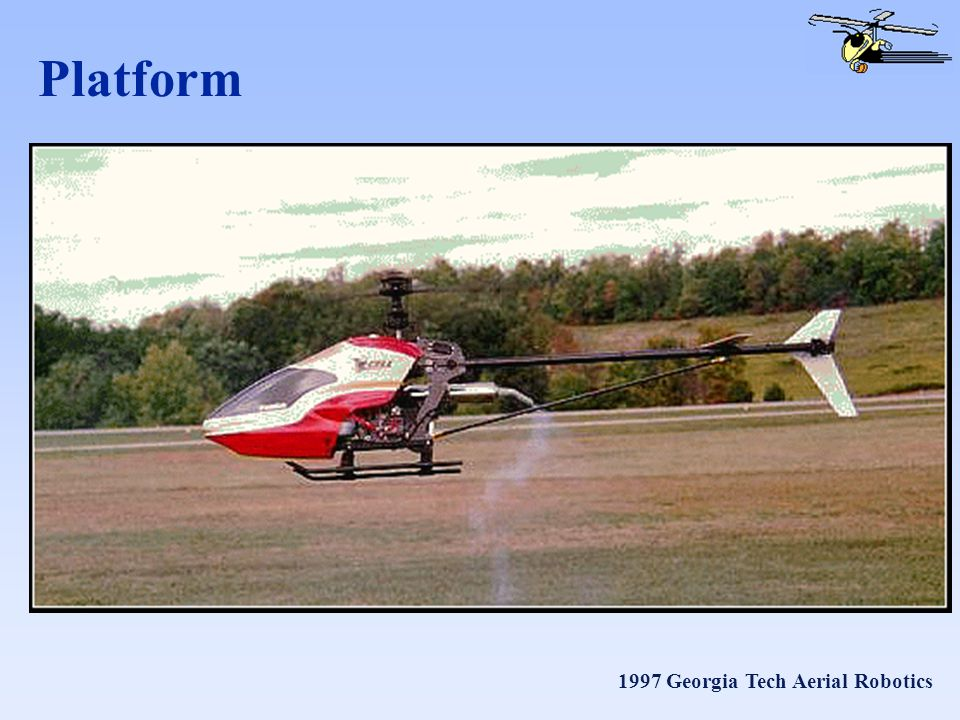 1997 Georgia Tech Aerial Robotics Platform