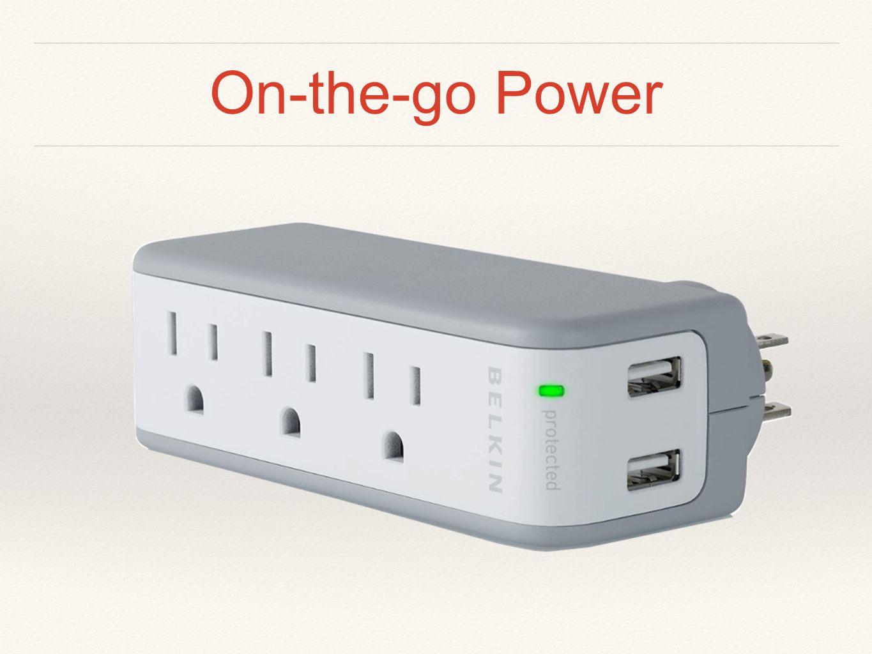 On-the-go Power