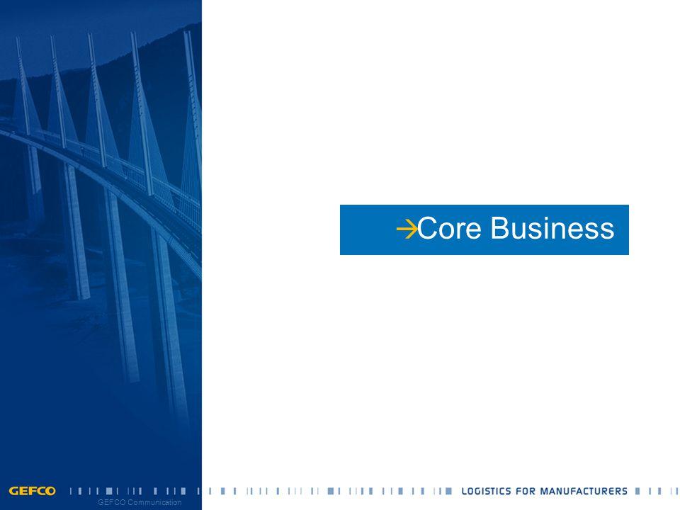 10 11/10/2014 GEFCO Communication  Core Business