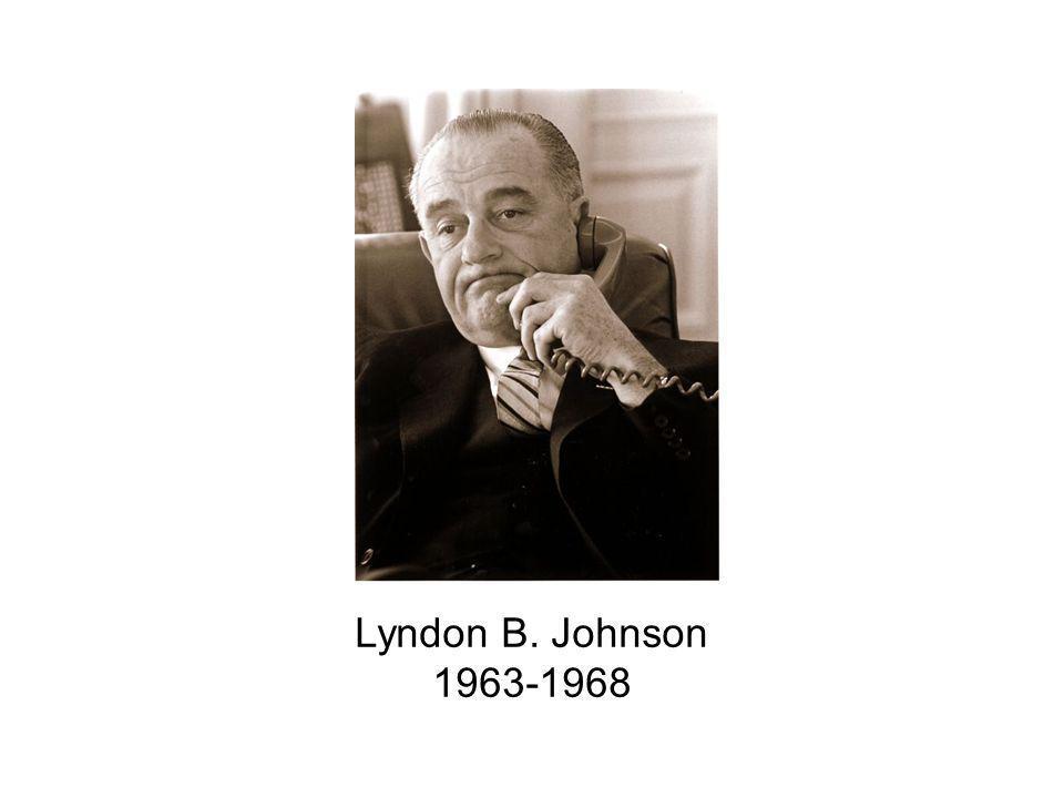 Lyndon B. Johnson 1963-1968