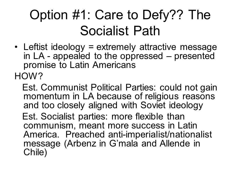 Option #1: Care to Defy?.