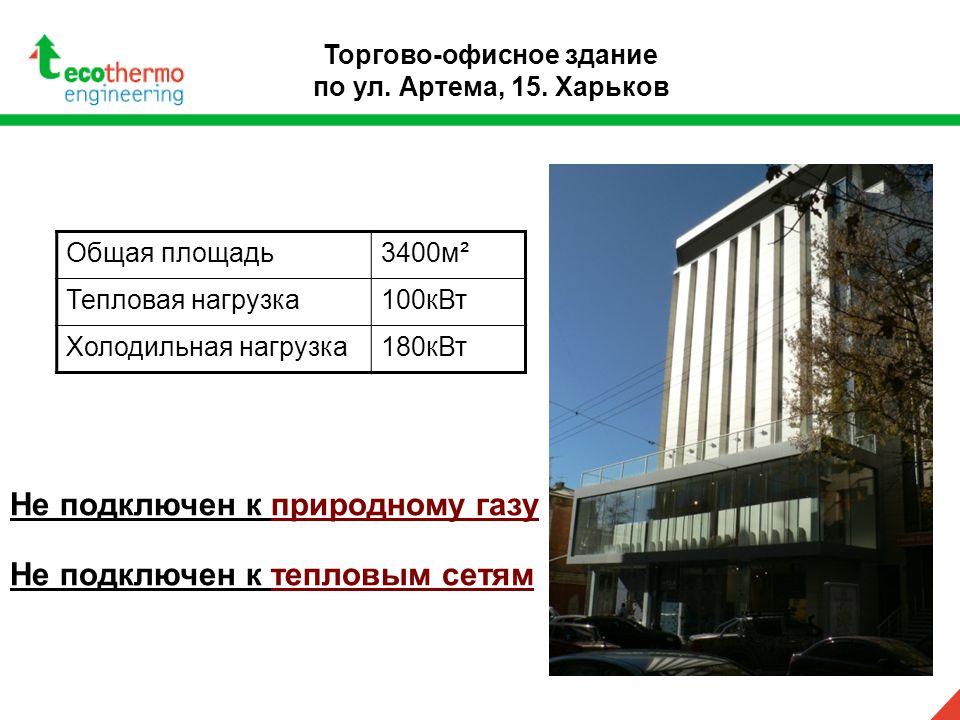 Торгово-офисное здание по ул. Артема, 15.