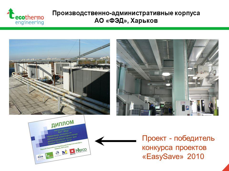 Проект - победитель конкурса проектов «EasySave» 2010 Производственно-административные корпуса АО «ФЭД», Харьков