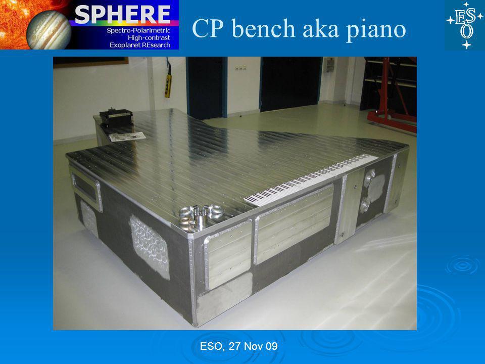 ESO, 27 Nov 09 CP bench aka piano