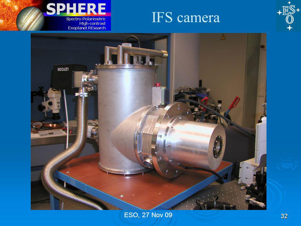 IFS camera 32