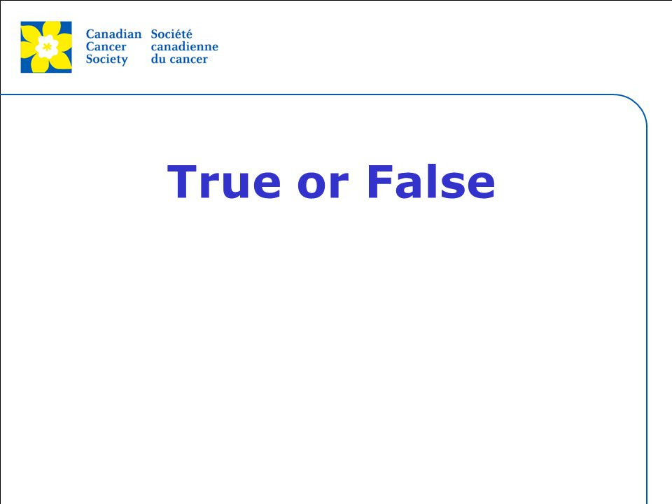 This grey area will not appear in your presentation. True or False