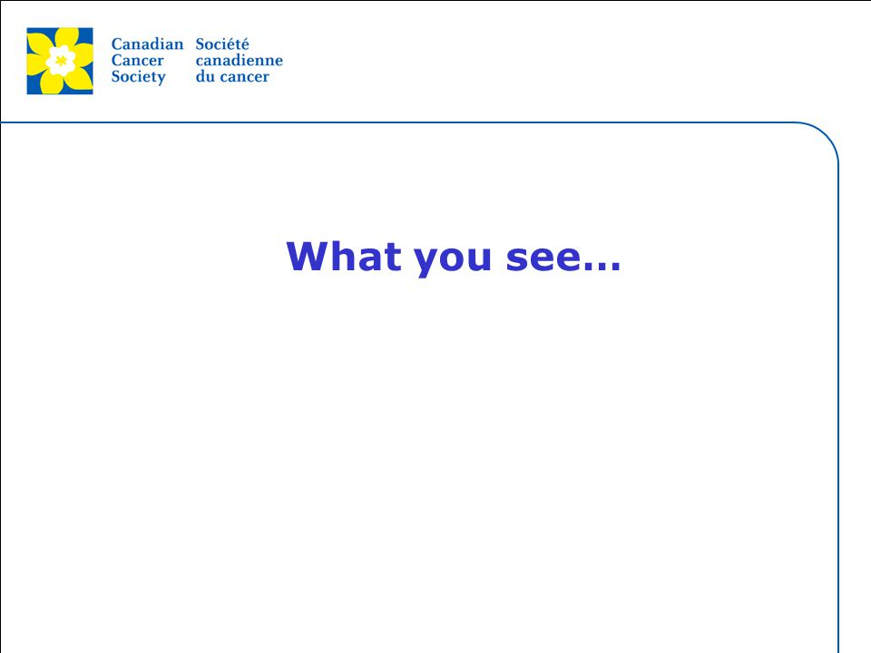 This grey area will not appear in your presentation. What you see…