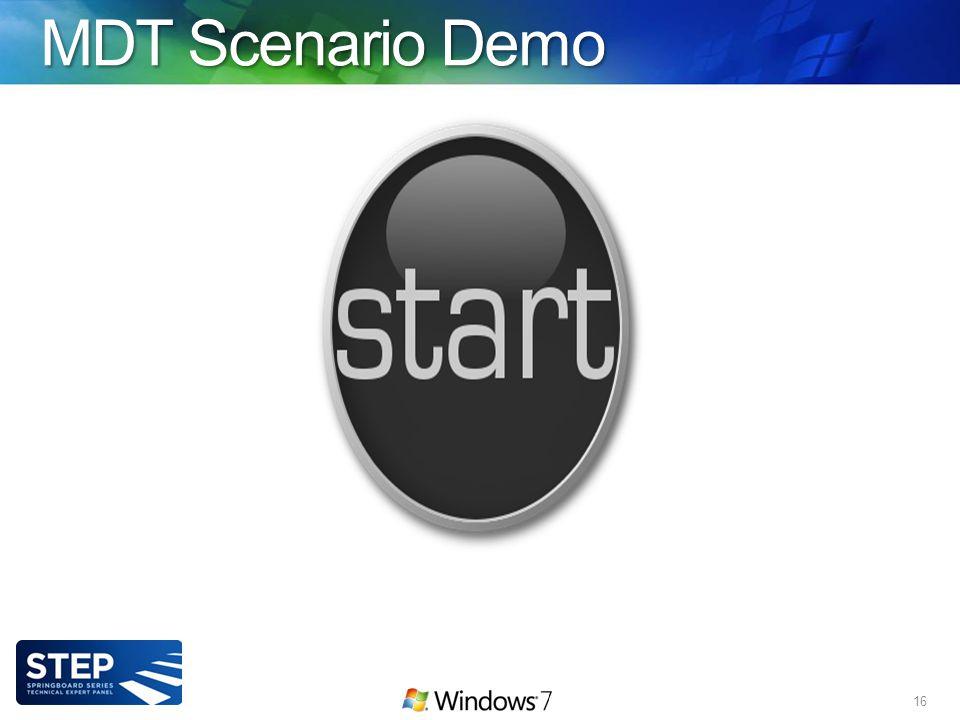 MDT Scenario Demo 16