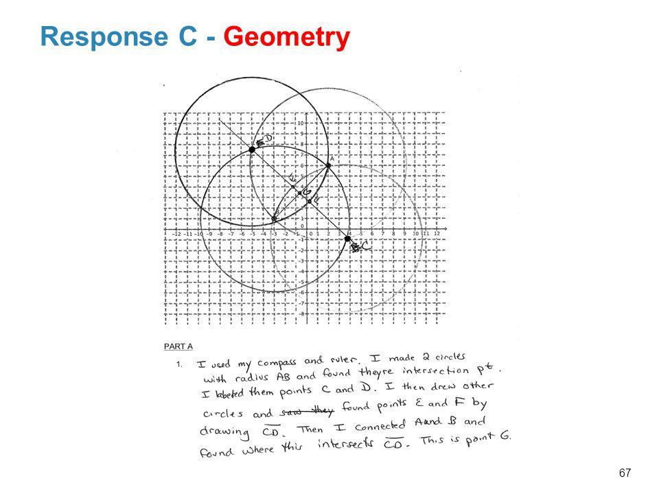 Response C - Geometry 67