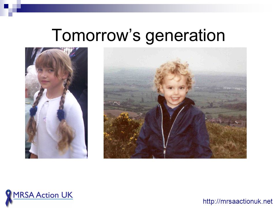 Tomorrow's generation http://mrsaactionuk.net
