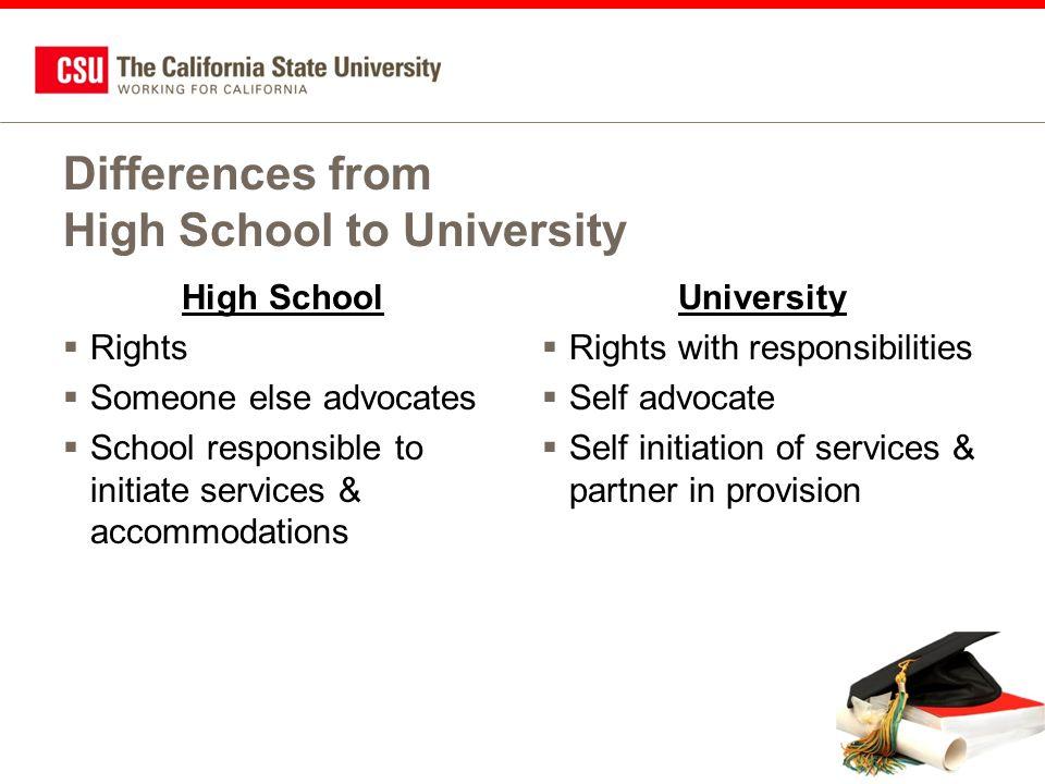 Programs at the University of California