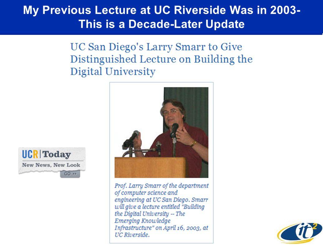 UCSD is a Tier-2 LHC Data Center: CMS Flow into UCSD Physics Dept.