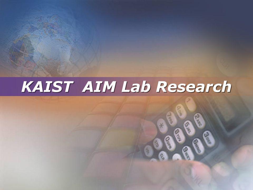 KAIST AIM Lab Research