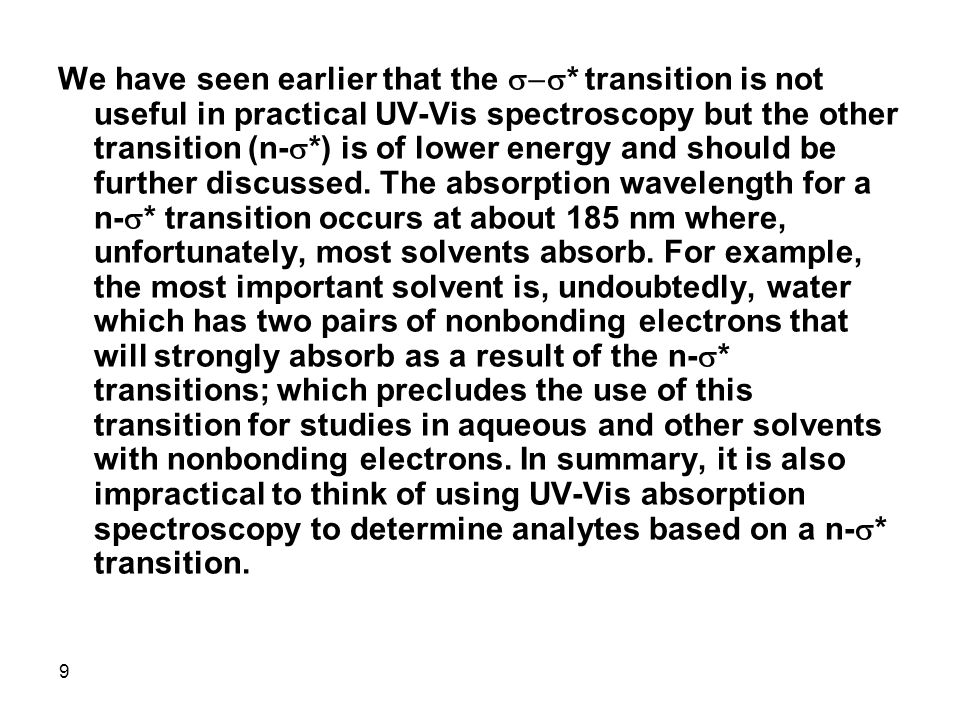20 The most frequently used transition is the  * transition for the following reasons: a.