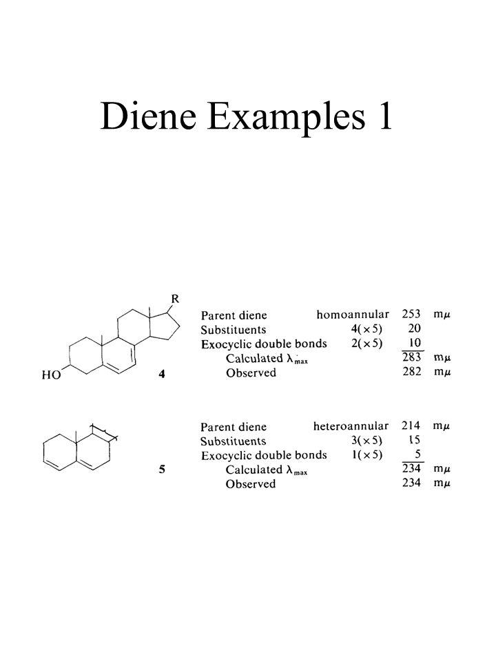 Diene Examples 1