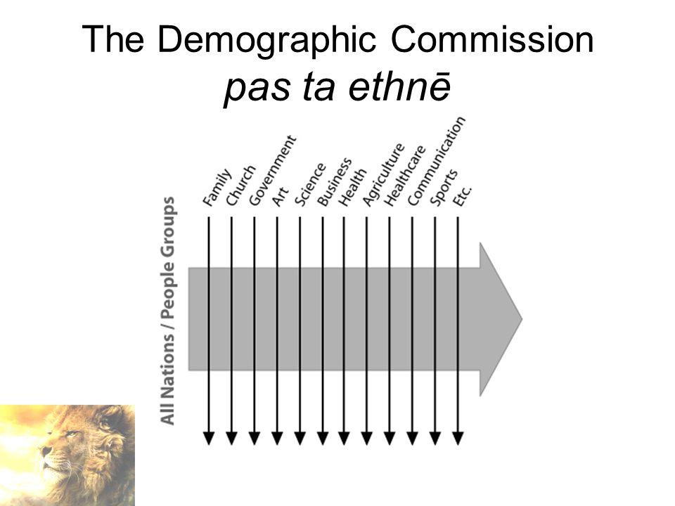 The Demographic Commission pas ta ethnē
