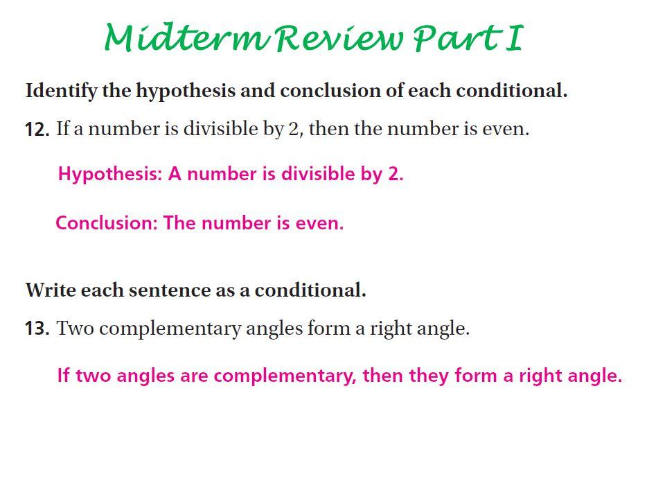 Midterm Review Part I 35.