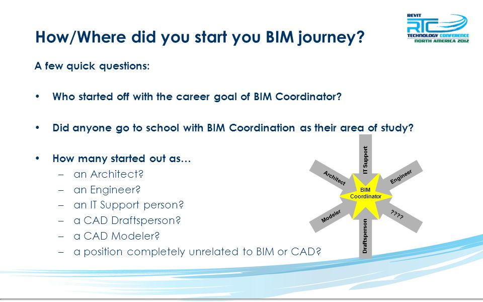 How/Where did you start you BIM journey.