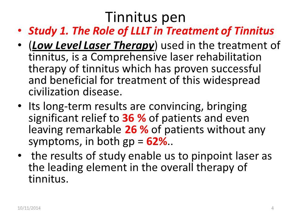 Tinnitus pen Study 1.