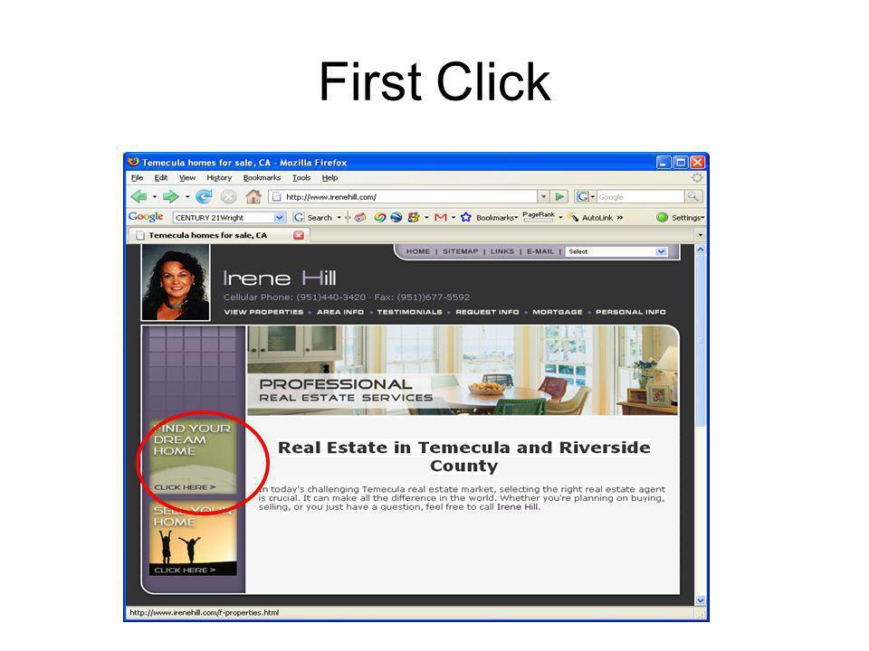 First Click