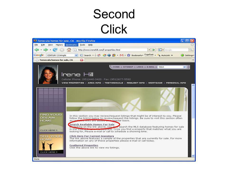 Second Click