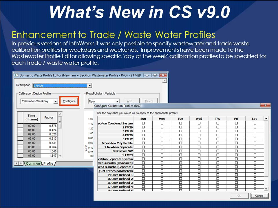 What's New in CS v9.0 Pick Graph & Graph Selected Objects tools It is now possible to move to a different simulation time directly on graphs generated by the Pick Graph tool and the Graph Selected Objects tool.