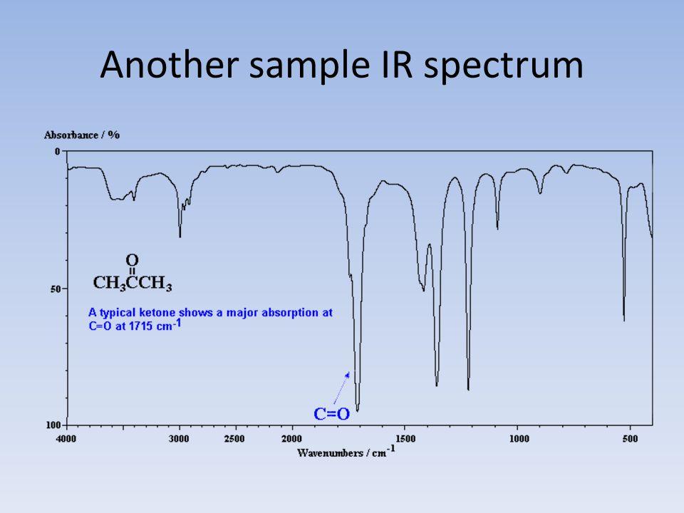 Another sample IR spectrum