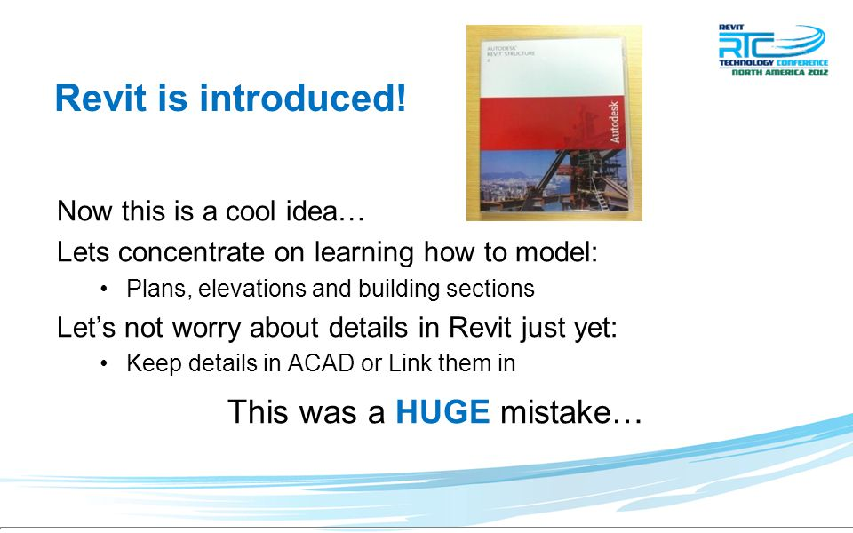 Revit is introduced.