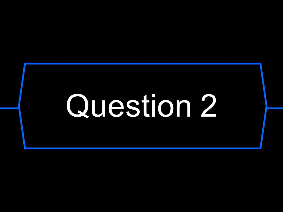 Question? A B C D lottery draw
