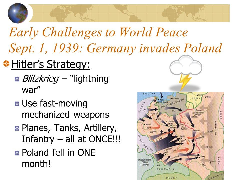 Early Challenges to World Peace Aug.