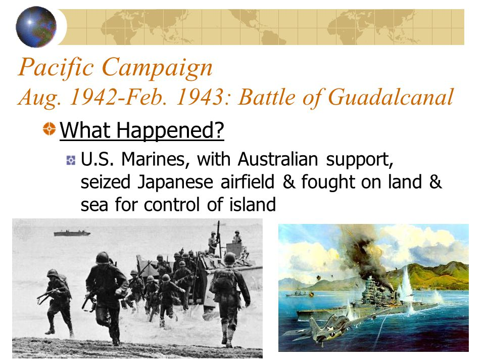 Pacific Campaign June 1942: Battle of Midway Significance of the Battle.