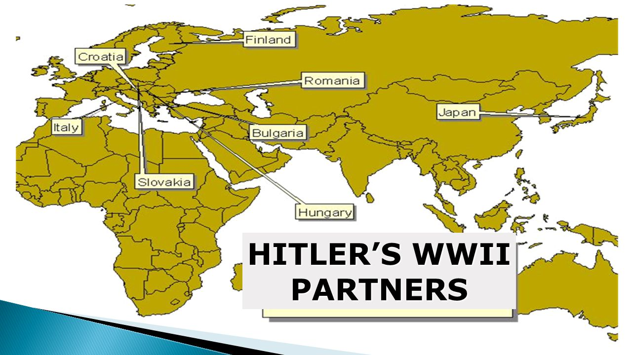 HITLER'S WWII PARTNERS