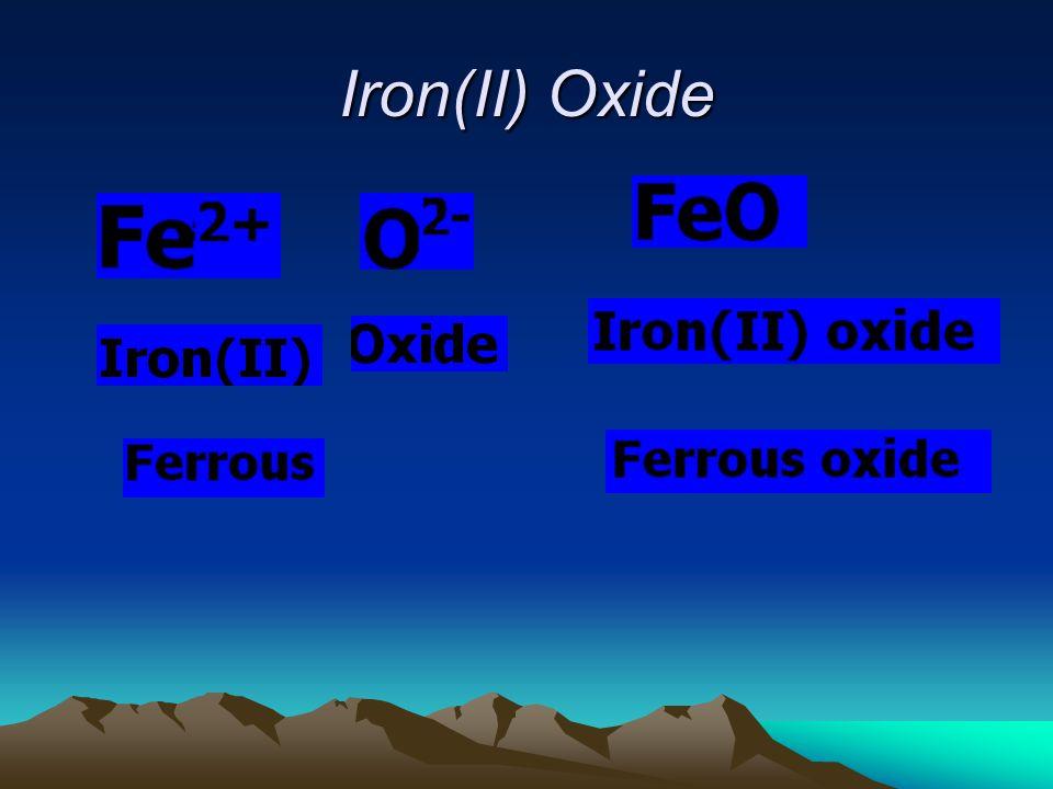 Iron(II) Oxide