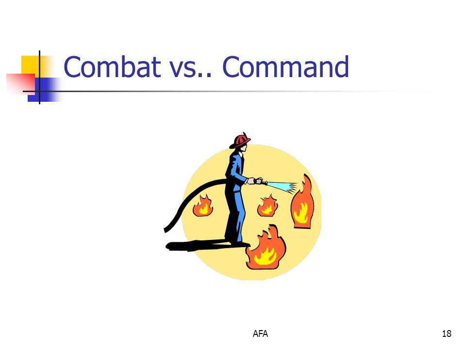 AFA18 Combat vs.. Command