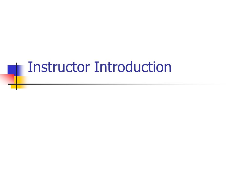 AFA3 Instructor affiliation Years of experience