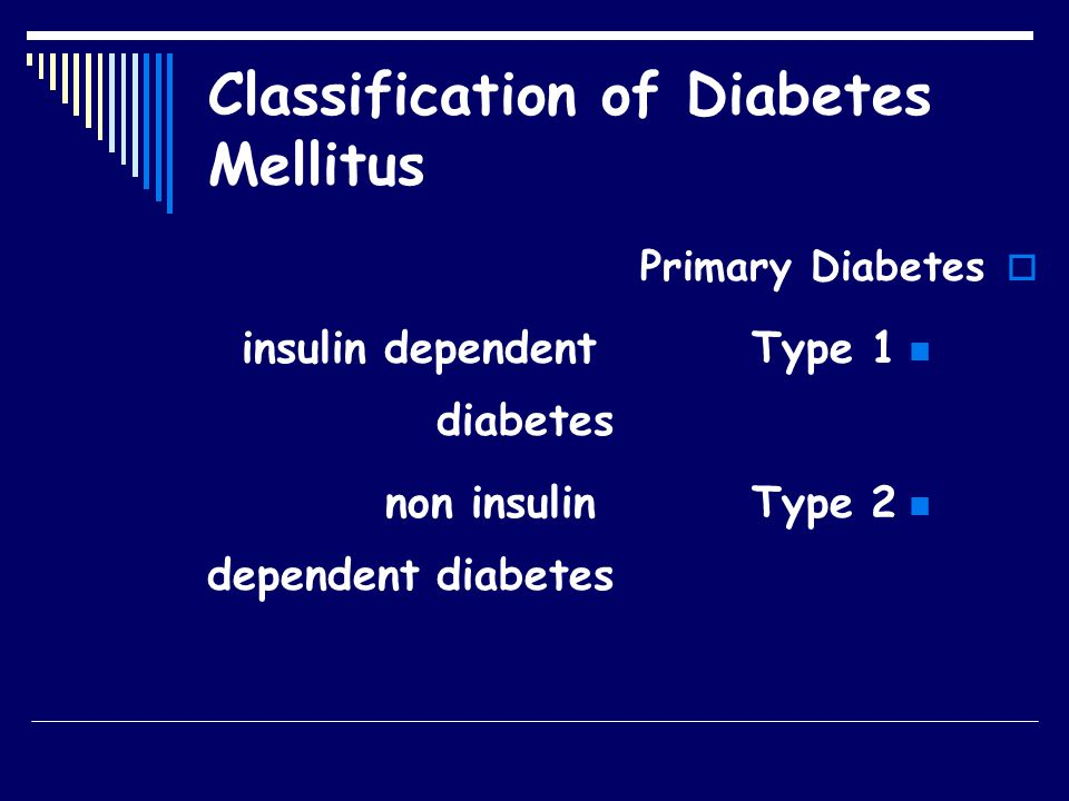 Diabetes Estimates and Projection